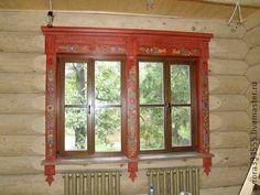 наличник внутренний - наличник,окно,резьба,прорезная,роспись,дизайн окна