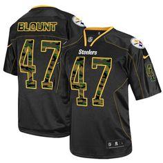 3771ef26675 Mike Wagner Men's Elite Black Jersey: Nike NFL Pittsburgh Steelers Camo  Fashion #23 Ramon