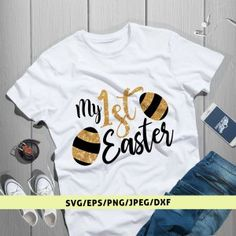 This item is unavailable My First Easter, Girls Cuts, Silhouette Designer Edition, Svg Cuts, Cricut Design, Cutting Files, Boys, Mens Tops, Products