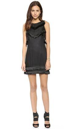 Open Back Mini Braided Dress sexy black dress