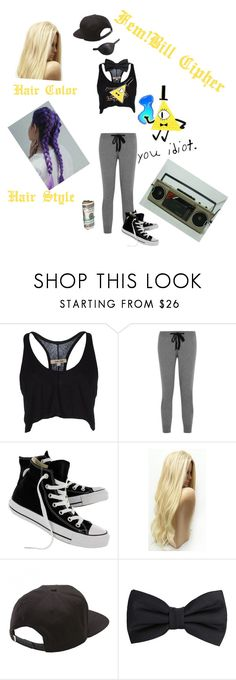 """""""(GF Dance AU) Fem!Bill Cipher"""" by anime-loverx ❤ liked on Polyvore featuring DAMIR DOMA, Chinti and Parker, Converse, Vans, Masquerade and MANGO MAN"""