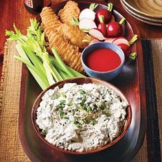 Try this spicy dip on burgers or tomatoes. We do not recommend fat-free products in this recipe.