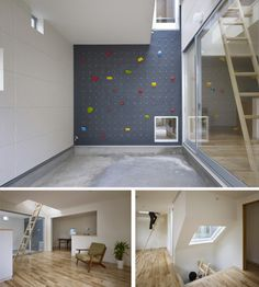 There will be a climbing wall in my home one day. No doubt about that...