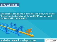 BPO Costing For more info, visit: http://www.iccs-bpo.com/