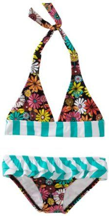 Roxy Kids Girls 2-6X 70S Halter Ruffle Beach Bloom Print Set --- http://www.pinterest.com.gp1.me/3tb