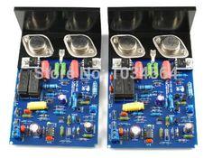 QUAD405 CLONE 2.0 dual channel assembled power amplifier board MJ15024 for HIFI
