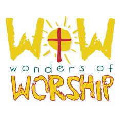 Children's Worship Logo- great theme