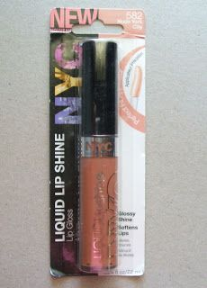 With A Side of Jess: NYC New York Color Liquid Lip Shine Nude York City Review - Latina Voxbox 2012