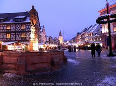 Gengenbach, Germany (Black Forest) Chrsitmas Market.  Need to go.
