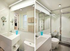 Tamanho é documento? Depois do sucesso dos banheiros pequenos (parte 1) e banheiros pequenos (parte 2), aprendemos que não, pelo menos quando o assunto é b