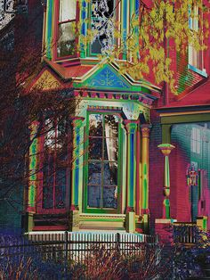 Colorful Victorian by jschneid, via Flickr