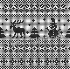 "Фотки Isle Strickmuster Diagramme Kreuzstich Photo from album ""Схемы для юбки"" on Yandex. Knitting Charts, Knitting Stitches, Knitting Designs, Knitting Socks, Baby Knitting, Crochet Chart, Filet Crochet, Norwegian Knitting, Knitted Christmas Stockings"