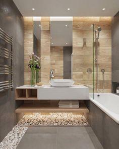 Rien de tel qu'une vasque à poser en solid surface dans une ambiance zen et naturelle #homedecor #bathroom #bathroomideas