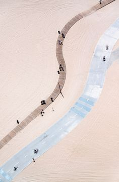 Santa Monica Strand Vertical by gray malin