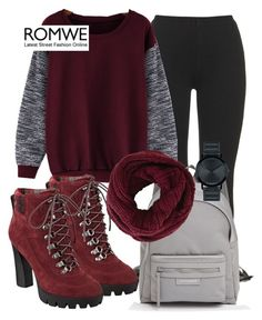 """ROMWE"" by deedee-pekarik ❤ liked on Polyvore featuring adidas Originals, Longchamp, Nine West, BCBGMAXAZRIA, Movado, women's clothing, women's fashion, women, female and woman"