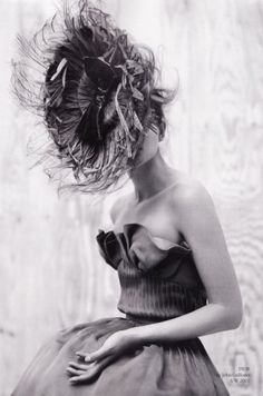 john galliano for dior...this looks like the back of my hair in the am if I don't put it up before bed.  lol.