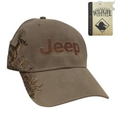 All Things Jeep - Jeep Logo Embroidered Hat with Buck Design
