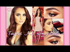 Taylor Hill Inspired Makeup Tutorial | Victoria's Secret Inspired - YouTube