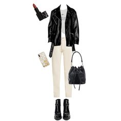 Fashion set 116 created via Stylish Work Outfits, Casual Outfits, Cute Outfits, Kpop Outfits, Fashion Outfits, Womens Fashion, Polyvore Outfits, Polyvore Fashion, Outing Outfit