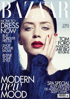 Emily Blunt, Harper's Bazaar Magazine [United Kingdom] (January 2011)