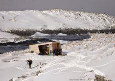 Minimale Schutzhütte zur Tierbeobachtung in Norwegen, Biotope Architekten