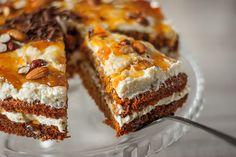 lv - Burkānu kūka ar krēmu un ievārījumu How To Make Frosting, Baking And Pastry, Organic Sugar, Master Chef, Quick Recipes, Carrot Cake, Confectioners Sugar, Cake Pops, Nutella