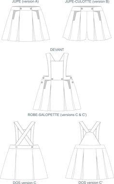 Diabolo Menthe - Une Rose sur la lune - Patrons de couture - La magie de la couture