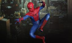 Sideshow Collectibles and Hot Toys are proud to present the Spider-Man Sixth Scale Limited Edition Collectible Figurine from the upcoming America superhero bloc
