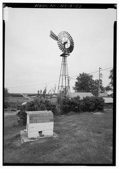 Windmill. Otoe County, Nebraska
