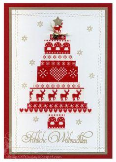 Kulricke Fröhliche Weihnachten Stempel