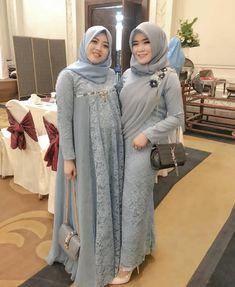 Instagram post by Inspirasi Kebaya dan Gaun • Feb 21, 2019 at 1:05am UTC Kebaya Modern Hijab, Dress Brokat Modern, Kebaya Hijab, Kebaya Dress, Hijab Prom Dress, Muslim Dress, Casual Hijab Outfit, Hijab Chic, Abaya Fashion