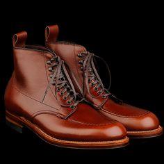 UNIONMADE - Alden - Stevenson Indy Boot in Brown Alpine Grain 40542H