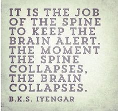 The spine... Do yoga or GYROTONIC.. Or both!!