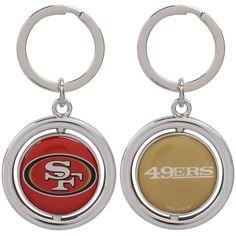 San Francisco 49ers Football Spinner Keychain - $6.99