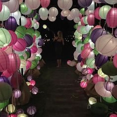 24 is off to a spectacular start 🎈❤🎈 Tent Wedding, Luxury Wedding, Vogue, Chinese Lanterns, Karlie Kloss, Boho Bride, 21st Birthday, Party Fashion, Cool Designs