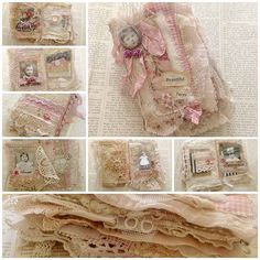 Little fabric book by yitte, via Flickr