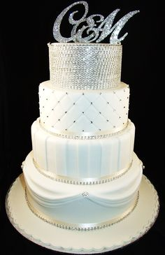 Wedding Cakes Adelaide - Sugar and Spice Cakes Adelaide. Bling bling