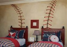 boys baseball bedroom decorating - Bing Images