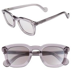 Men's Moncler 50Mm Square Sunglasses ($290) ❤ liked on Polyvore featuring men's fashion, men's accessories, men's eyewear, men's sunglasses, mens sunglasses, mens vintage eyewear, mens square sunglasses, mens eyewear and vintage mens sunglasses #mensaccessoriessunglasses #mensaccessoriesvintage