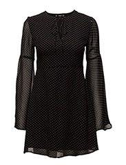 Køb Mango Flared Sleeves Dress (Black) hos Boozt.com. Vi har et stort sortiment fra alle de førende mærker og leverer til dig indenfor 1-2 dage.
