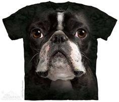 The Mountain - Boston Terrier Face T-Shirt, $20.00 (http://shop.themountain.me/boston-terrier-face-t-shirt/)