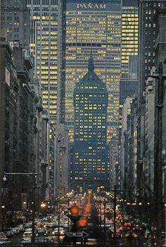 Park Avenue. NYC, 1964   A1 Pictures