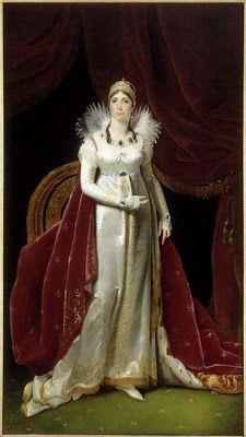 Henri-François Riesener (1767-1828) : L'impératrice Joséphine (1806)