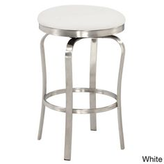 The Chintaly Colby Modern Backless Bar Stool has that contemporary style that you adore. This fine stool has a backless design and a button-style seat. Modern Counter Stools, Counter Height Stools, Counter Bar Stools, Swivel Bar Stools, Kitchen Stools, Island Stools, Shop Counter, Stool Height, Kitchen Island
