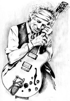 Keith Richards Drawing by Paradise Cartoon Sketches, Art Drawings Sketches, Keith Richards, Rolling Stones Album Covers, Drawing Rocks, Fan Art, Illustrations, Stone Art, Drawing People