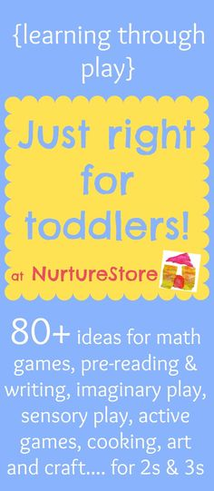Activities for toddlers :: learning through play - ...