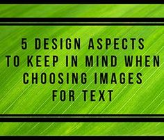 We've already discussed the reasons why adding text to images is a good idea. Now it's time to talk design!  Can you add text to any image? Well, you can, but should you? Knowing which images will look lovely and work to your advantage when placing text on them can feel tricky. Which images work? Which don't?