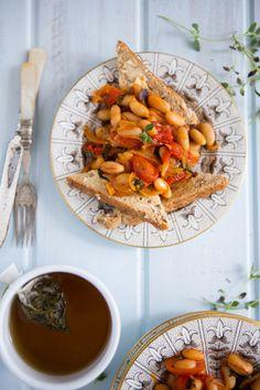 Posh-Bean-on-Toast | healthy recipe ideas @xhealthyrecipex |