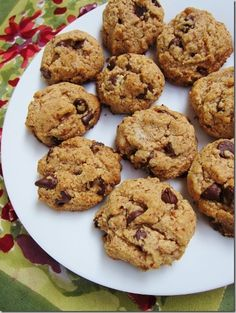 Gluten-free and Egg-free Chocolate Chip Cookies