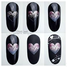 """Explore our web site for more info on """"acrylic nail art designs summer"""". It is actually a superb spot for more information. Manicure Nail Designs, Cute Acrylic Nail Designs, Cute Acrylic Nails, Nail Manicure, Diy Nails, Glitter Nails, Nail Art Designs, Design Art, Heart Nail Art"""